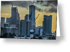 Sunrise Over Melbourne Greeting Card