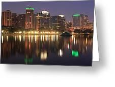 Sunrise Over Orlando Greeting Card