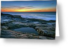 Sunrise Over Pemaquid Point Greeting Card