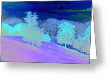 Sunrise Over Shenandoah Valley Greeting Card