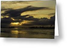 Sunrise Over The Ninth Ward Greeting Card
