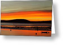 Sunrise, Padstow Greeting Card