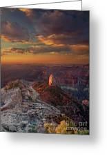 Sunrise Point Imperial North Rim Grand Canyon National Park Arizona Greeting Card