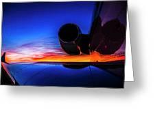 Sunrise Pre Flight Greeting Card