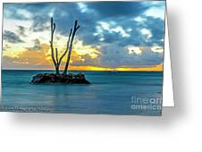 Sunrise Punta Cana #2 Greeting Card