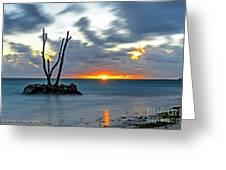 Sunrise Punta Cana Greeting Card