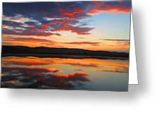 Sunrise Refection Greeting Card