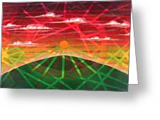 Sunrise Greeting Card by Rollin Kocsis