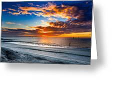 Sunrise Serenades The Beach Greeting Card