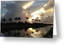 Sunrise Storm Greeting Card