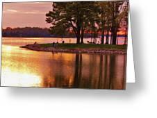 Sunrise-sunset 5 Greeting Card