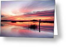 Sunrise Sunset Art Photo - Sailing By Jo Ann Tomaselli    Greeting Card