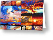 Sunrise Sunset Sunrise Greeting Card