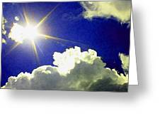 Sunrise /sunset Greeting Card