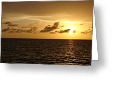 Sunset - Gulf Of Mexico Greeting Card