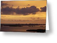 Sunset 0004 Greeting Card