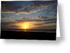 Sunset 0007 Greeting Card