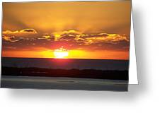 Sunset 0010 Greeting Card