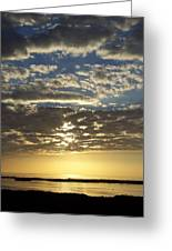 Sunset 0011 Greeting Card
