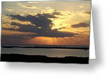 Sunset 0036 Greeting Card