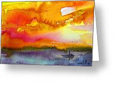 Sunset 02 Greeting Card