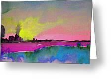 Sunset 09 Greeting Card