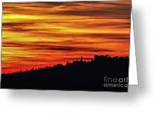 Sunset 11 Greeting Card