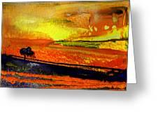 Sunset 15 Greeting Card