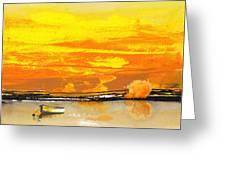 Sunset 24 Greeting Card