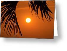 Sunset 35 Greeting Card