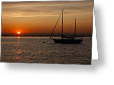 Sunset 504 Greeting Card