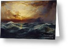 Sunset After A Storm Greeting Card