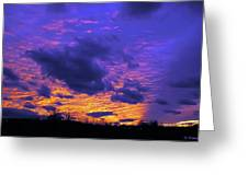 Sunset After Storm Greeting Card