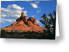 Sunset At Bell Rock Greeting Card