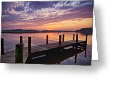 Sunset At Denbigh Park II Greeting Card