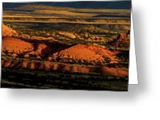 Sunset At Donkey Flats Greeting Card