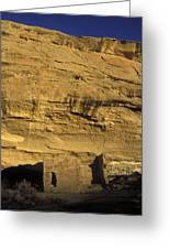 Sunset At Gallo Cliff Shelter Greeting Card