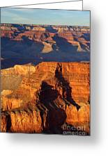 Sunset At Grand Caynon Greeting Card