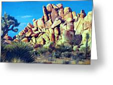 Sunset At Joshua Tree Greeting Card