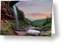 Sunset At Kaaterskill Greeting Card