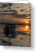Sunset At Kiviranta Pt 2 Greeting Card