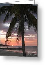 Sunset At Montego Bay Greeting Card