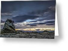 Sunset At Poolburn Reservoir 1 Greeting Card