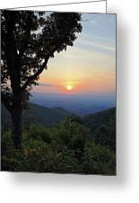 Sunset At Purgatory Mountain Greeting Card