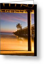 Sunset At San Clemente Greeting Card