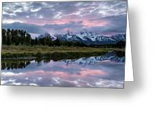 Sunset At Schwabacher Greeting Card