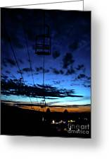 Sunset At Smugglers' Notch, Vermont - Portrait Greeting Card