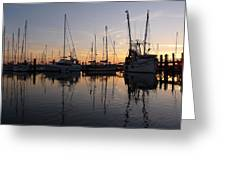Sunset At St. Marys Greeting Card
