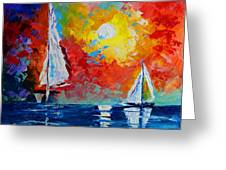 Sunset Bay Greeting Card