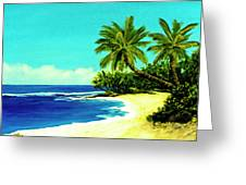 Sunset Beach Art North Shore Of Oahu In Summer #100 Greeting Card